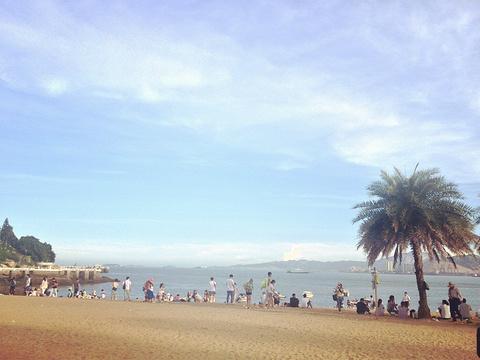 鼓浪屿沙滩旅游景点图片