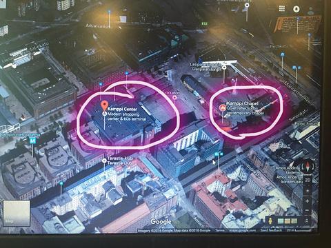 康比购物中心旅游景点攻略图