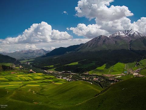 祁连山旅游景点图片