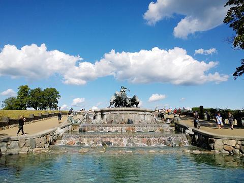 盖费昂喷泉旅游景点图片