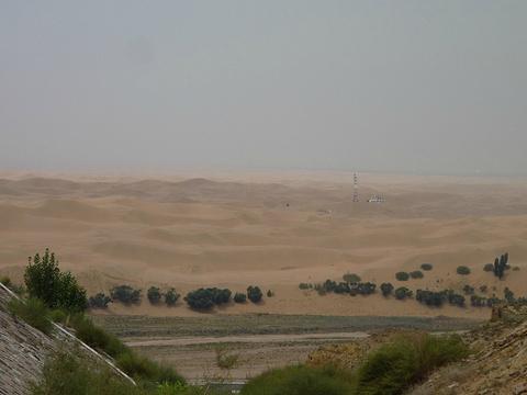 响沙湾旅游景点攻略图