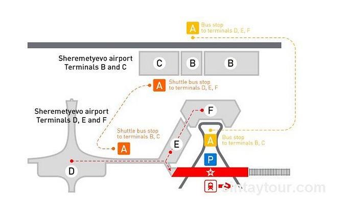 莫斯科谢列梅捷沃机场图片