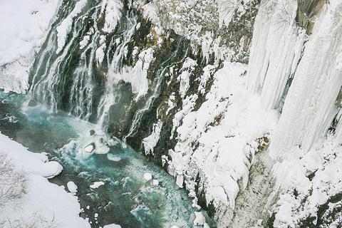 白须瀑布旅游景点攻略图
