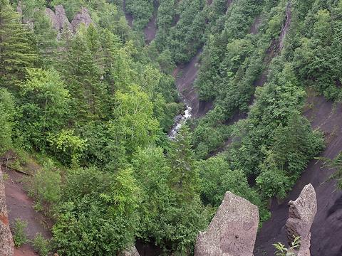 长白山大峡谷旅游景点图片