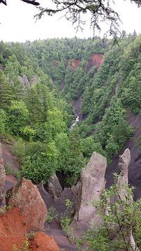 长白山大峡谷旅游景点攻略图