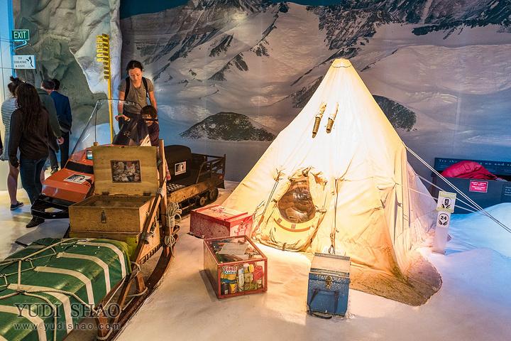"""""""基督城是距离南极最近的一个补给站,所以在..._国际南极中心""""的评论图片"""