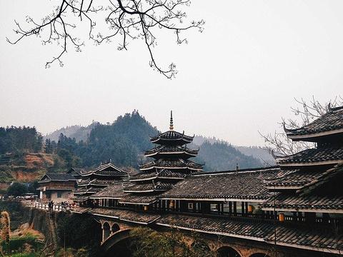 程阳风雨桥旅游景点图片