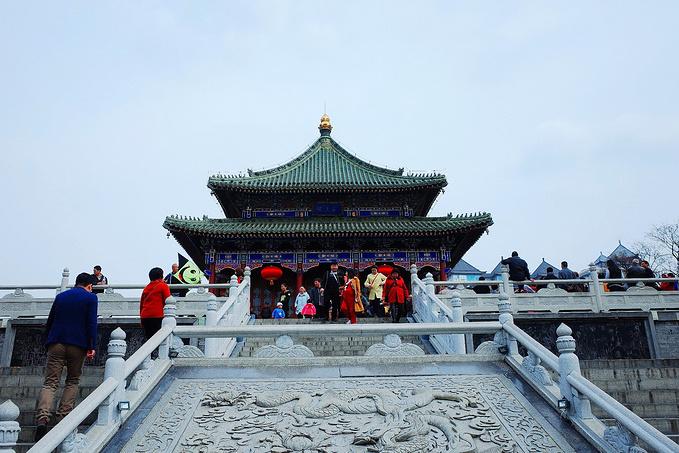 兴庆宫公园图片