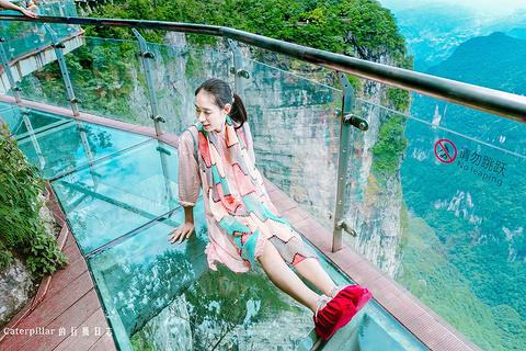 天门山玻璃栈道旅游景点攻略图