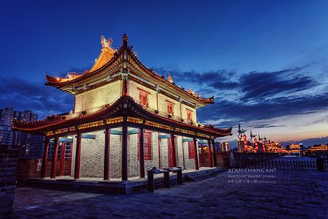 西安城墙的图片