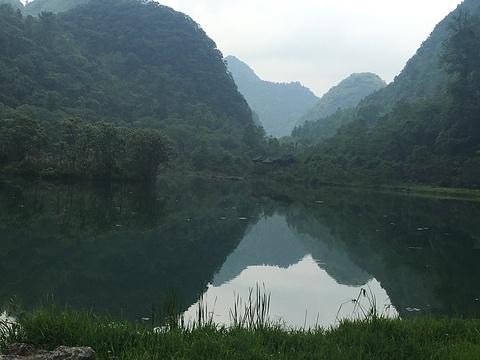 翠谷瀑布旅游景点攻略图