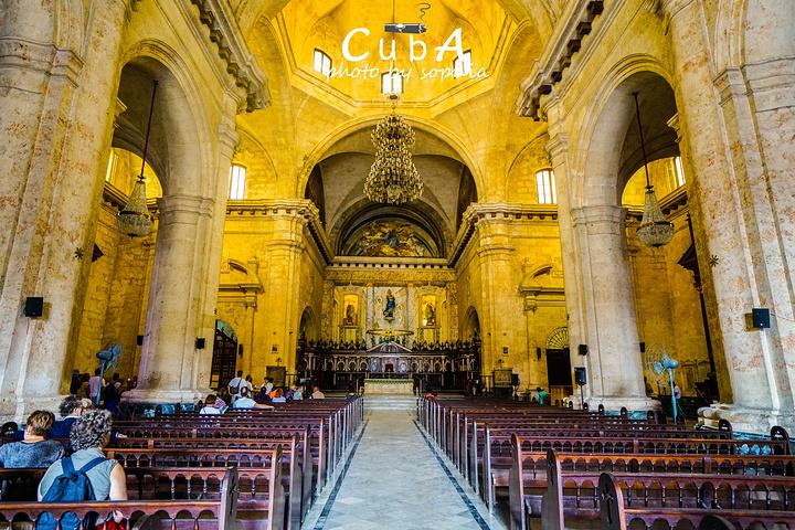 """""""当地人自豪的说,这里是全美洲最美的教堂!..._哈瓦那大教堂""""的评论图片"""