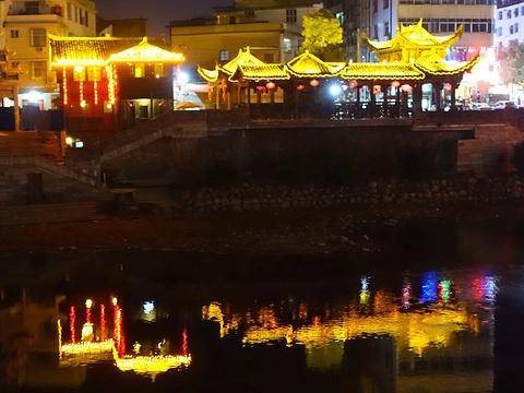 长汀古城墙旅游景点图片