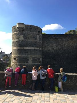 昂热城堡旅游景点攻略图