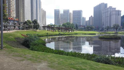 花果园湿地公园旅游景点攻略图