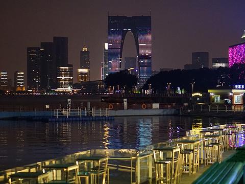 金鸡湖旅游景点图片