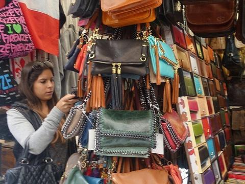 佛罗伦萨中央皮具市场旅游景点图片