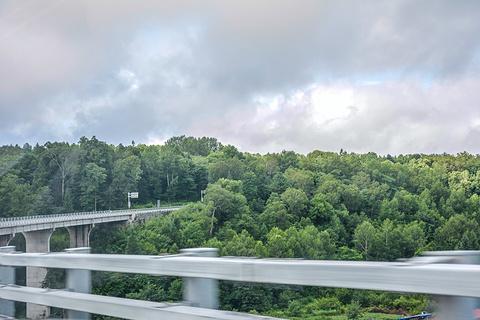 长白山西坡景区旅游景点攻略图