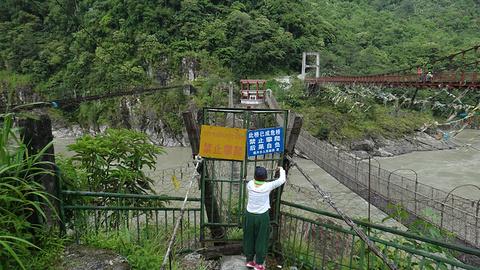 藤网桥旅游景点攻略图