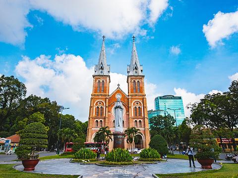 西贡圣母大教堂旅游景点图片