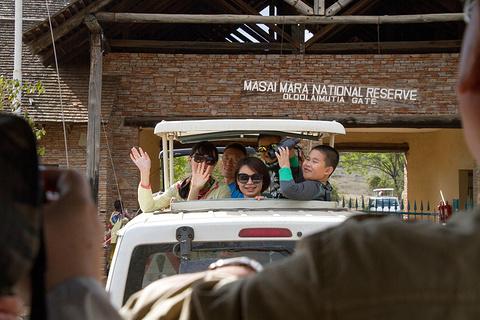 马赛马拉国家保护区旅游景点攻略图