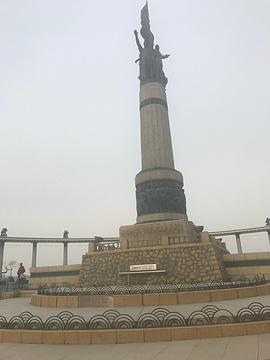 防洪纪念塔旅游景点攻略图