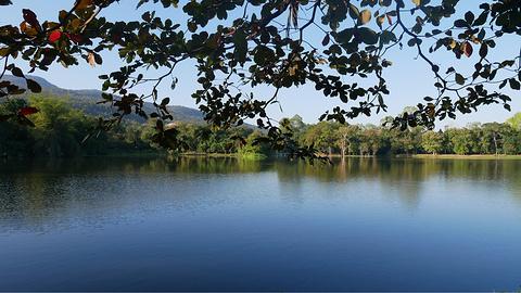 清迈大学静心湖旅游景点攻略图