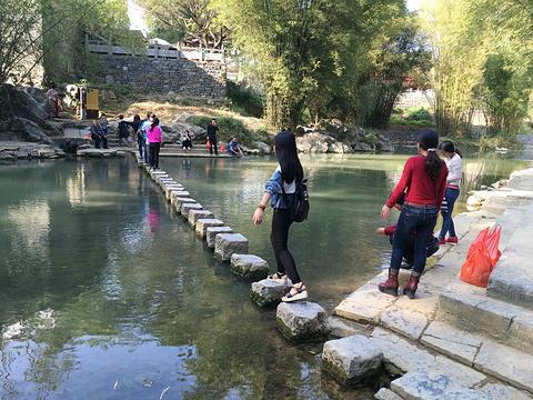 石跳桥旅游景点攻略图