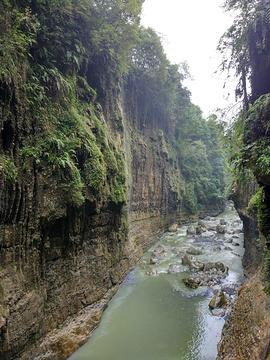 云龙河地缝旅游景点攻略图