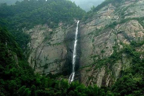 庐山瀑布旅游景点攻略图
