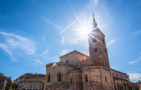 塞哥维亚城堡旅游景点攻略图
