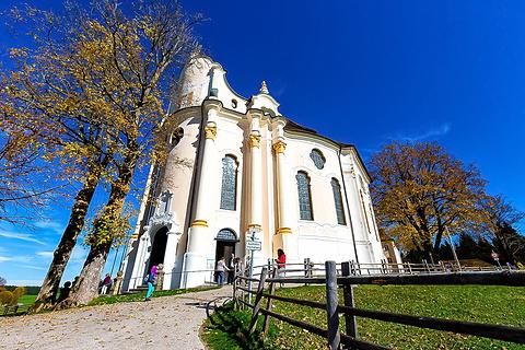 维斯朝圣教堂旅游景点攻略图