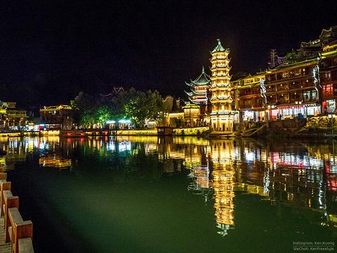 凤凰古城的图片