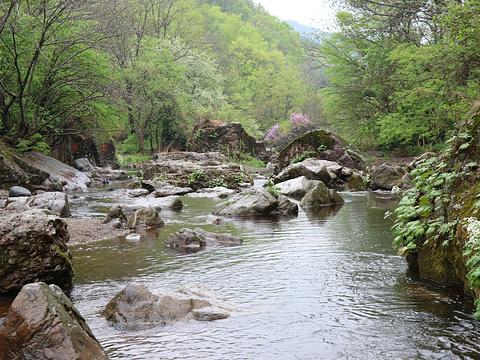 飞瀑涧旅游景点图片