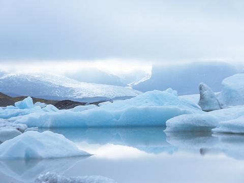 冰河湖旅游景点图片