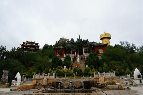 大佛寺转经筒旅游景点攻略图
