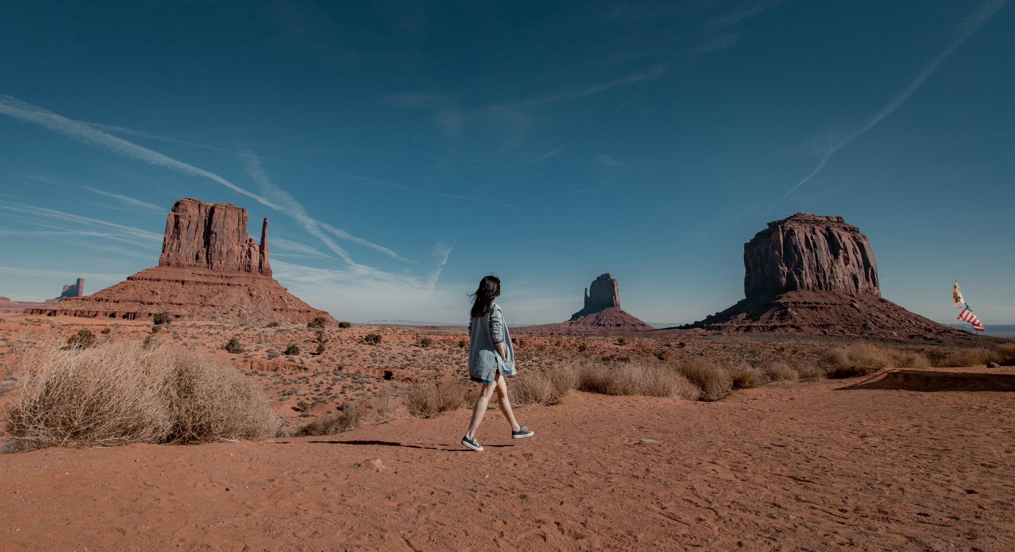 彼岸无声,散聚星尘 走进西部世界·美国独行自驾5000公里