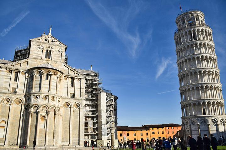 """""""比萨斜塔——证明自己来过意大利的打卡圣地,基本上来意大利的游客,都一定会去比萨看斜塔,不亲眼目..._比萨斜塔""""的评论图片"""