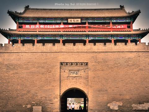 宣化城墙旅游景点图片