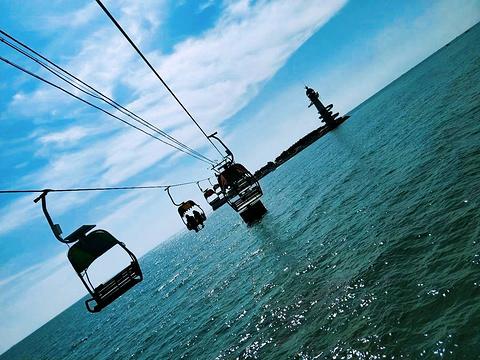 南戴河仙螺岛旅游景点攻略图