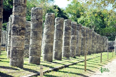 武士神庙旅游景点攻略图