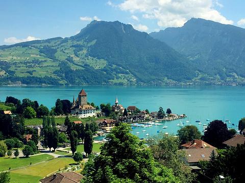 少女峰下 · 图恩湖边,瑞士古镇静静浪漫