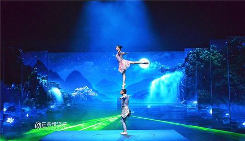 桂林千古情旅游景点攻略图
