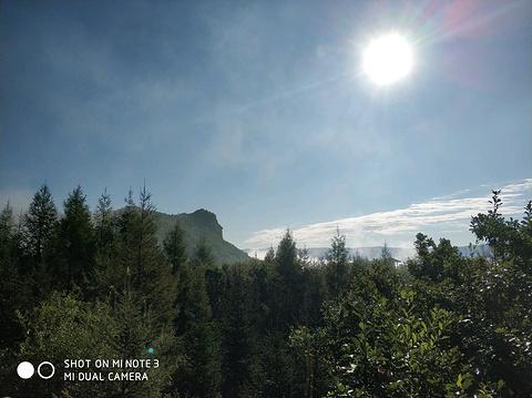 日光山观狮台旅游景点攻略图