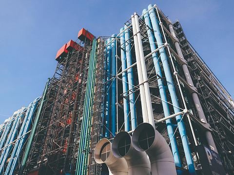 蓬皮杜国家文化艺术中心旅游景点图片
