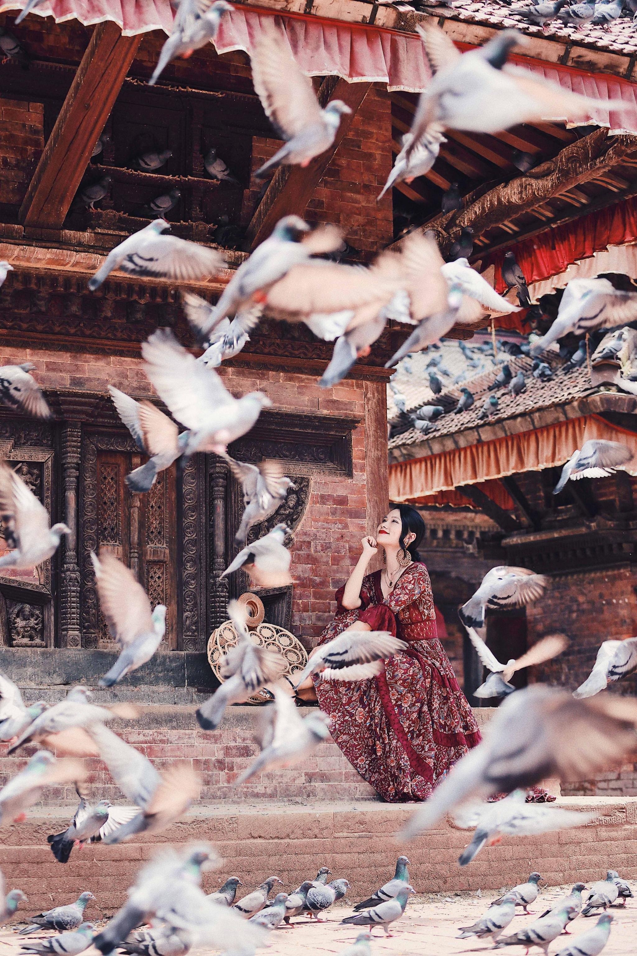 在尼泊尔,我有照片,你想听故事吗