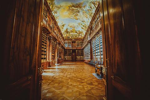 斯特拉霍夫修道院神学图书馆旅游景点攻略图