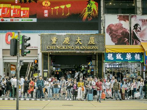 重庆大厦旅游景点图片