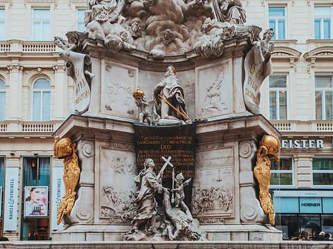 黑死病纪念柱旅游景点图片
