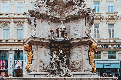 黑死病纪念柱的图片